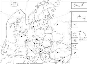 fond de carte UE et europe